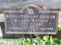 Revolutionary Soldier - Major Watson