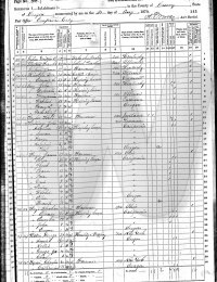 1870 Curry Co Census Coy