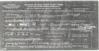 Dolores Rehfeld SSN Application