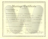 GG Marriage Certificate