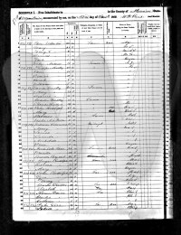 Marion Co 1850 Census - Donica